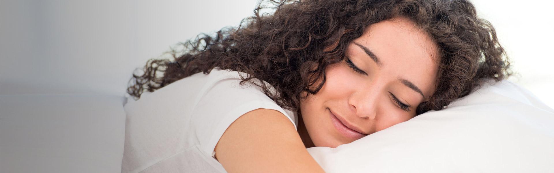 Schöne Zähne im Schlaf